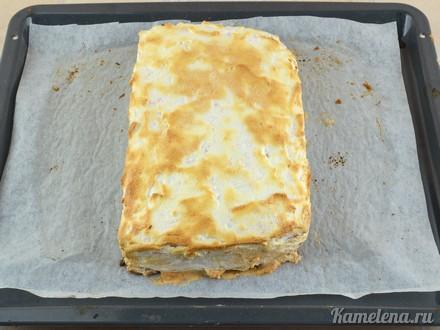 Песочный лимонный пирог — 17 шаг