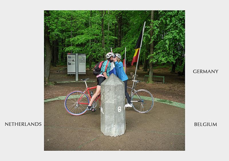 Нидерланды - Бельгия - Германия граница, страна