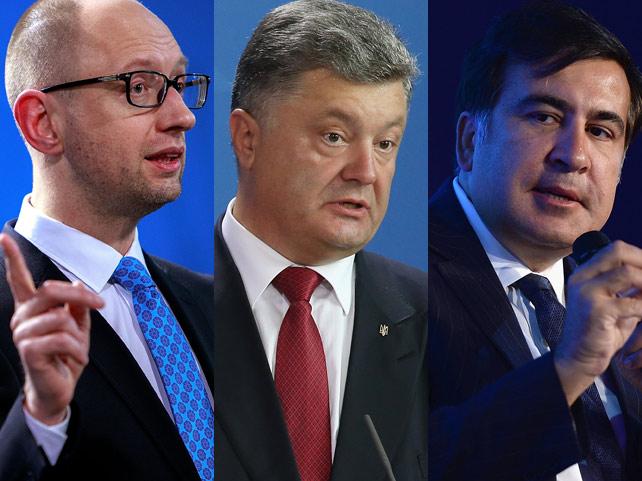 «Грузинские реформаторы» устроили грызню с украинскими майданщиками из-за богатств Януковича