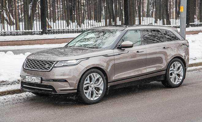 Тест-драйв: Range Rover Velar