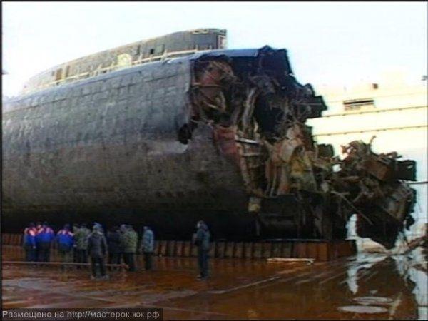 курск 2000 подводная лодка хронология