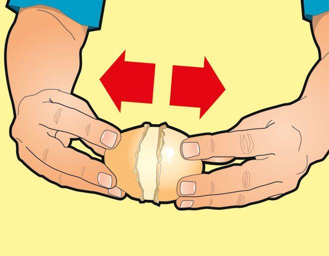 Как очистить картошку за 1 секунду  картошка, полезные советы