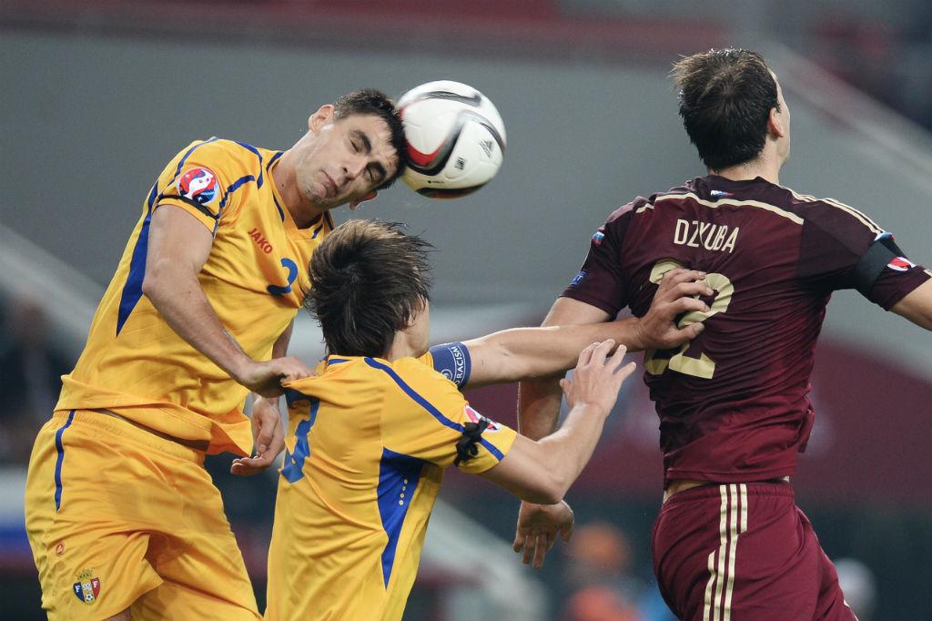 Сборная России по футболу сыграла вничью с командой Молдавии