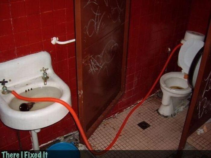 Приснилось что я ремонтирую черную крышу туалета