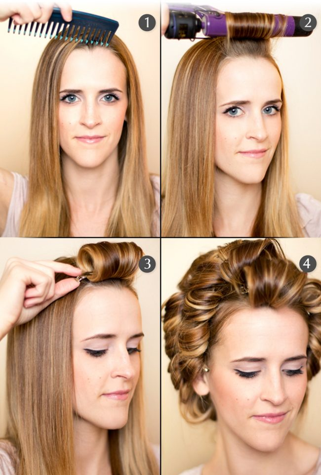 Как сделать волосы волнами быстро 969