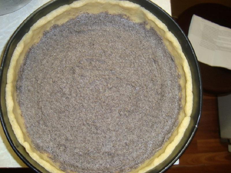 маковый пирог песочное тесто