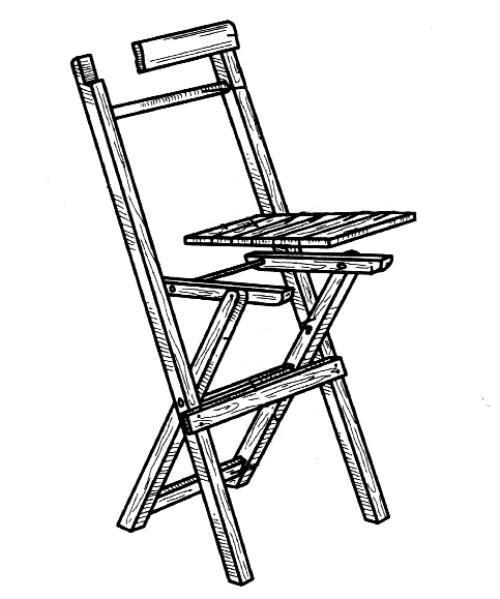 изготовление раскладных стульев для рыбалки