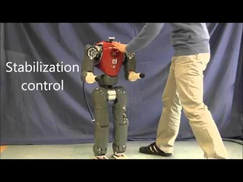 COMAN - робот, которого трудно свалить с ног