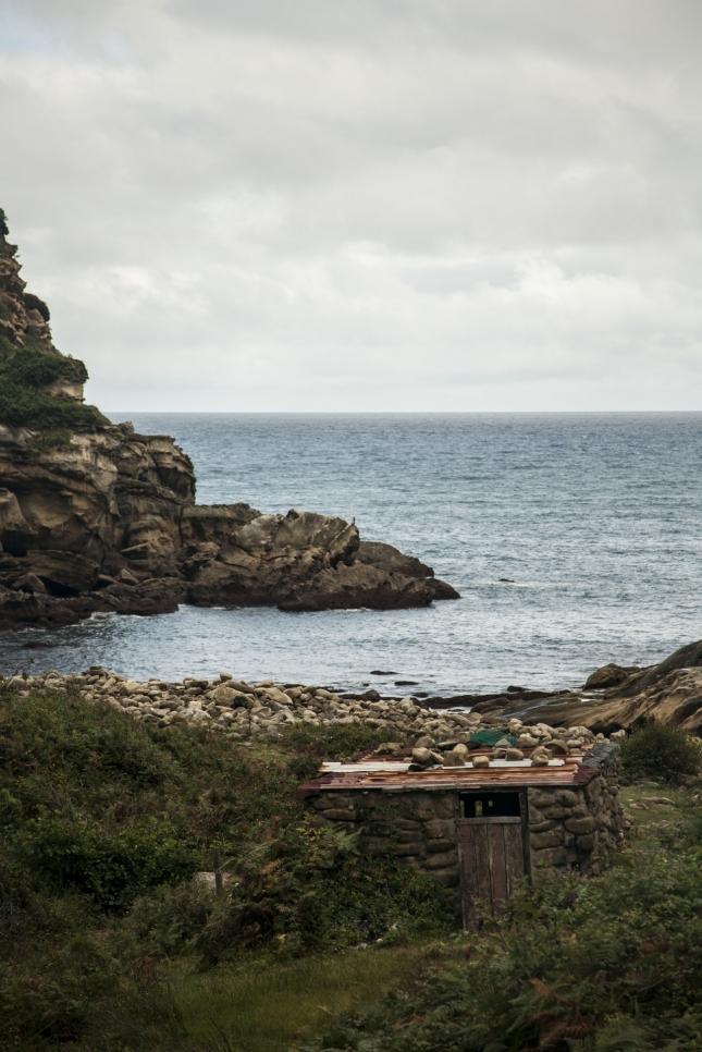 Лачуга в стране Басков боиз Наварры, Испания