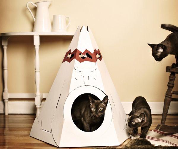 Домик для кошки мягкий своими руками