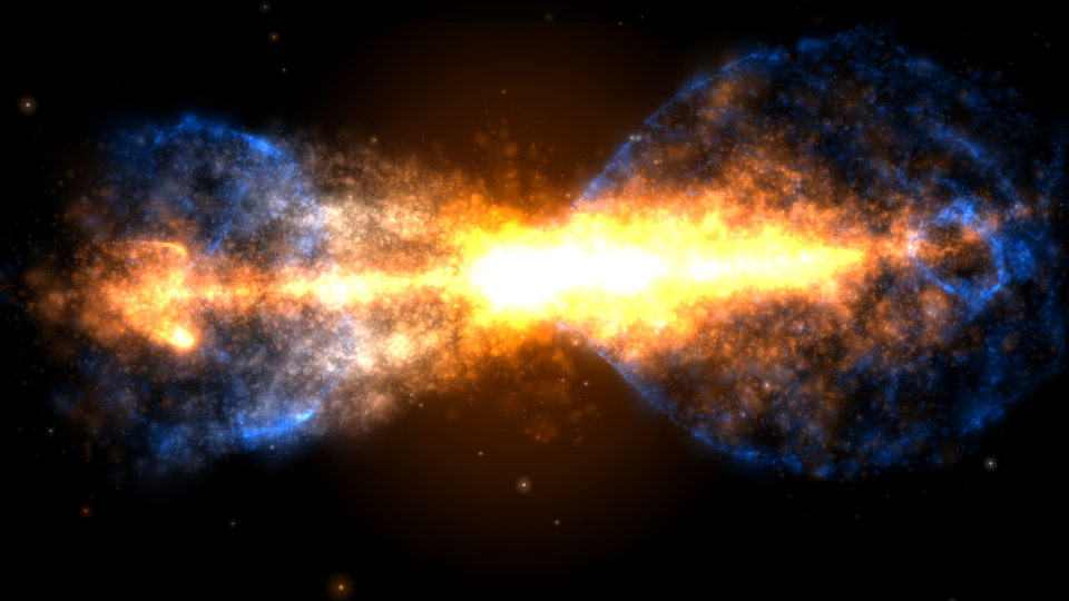 «Хаббл» запечатлел смерть звезды в созвездии «Тухлое Яйцо»