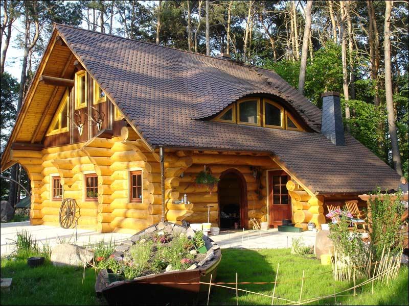 сруб, деревянный дом, русская изба