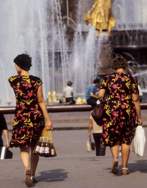 Москва - Сибирь - Япония. 1980 год