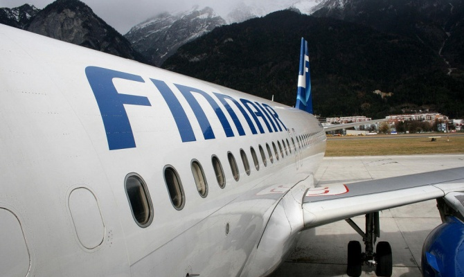 Finnair возобновила полеты над западом Украины, сообщает финское ТВ