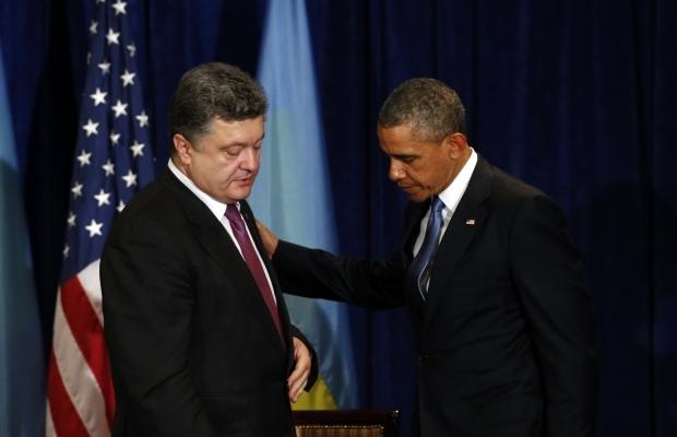 Обама взбешен самодеятельностью Порошенко