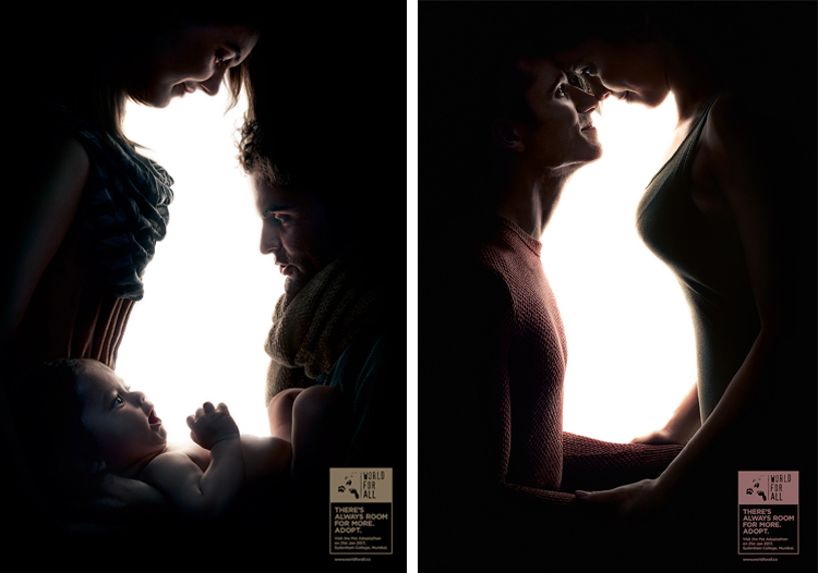Социальная реклама, призывающая забирать животных из приютов