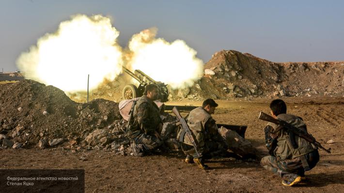 Сводка, Сирия: неизвестная пушка боевиков открыла «охоту» на спецназ Асада