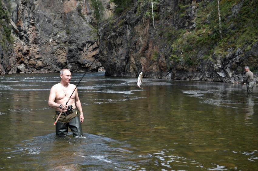 """""""Глав-рыба"""". Какие мировые лидеры поддерживают Путина в любви к рыбалке"""
