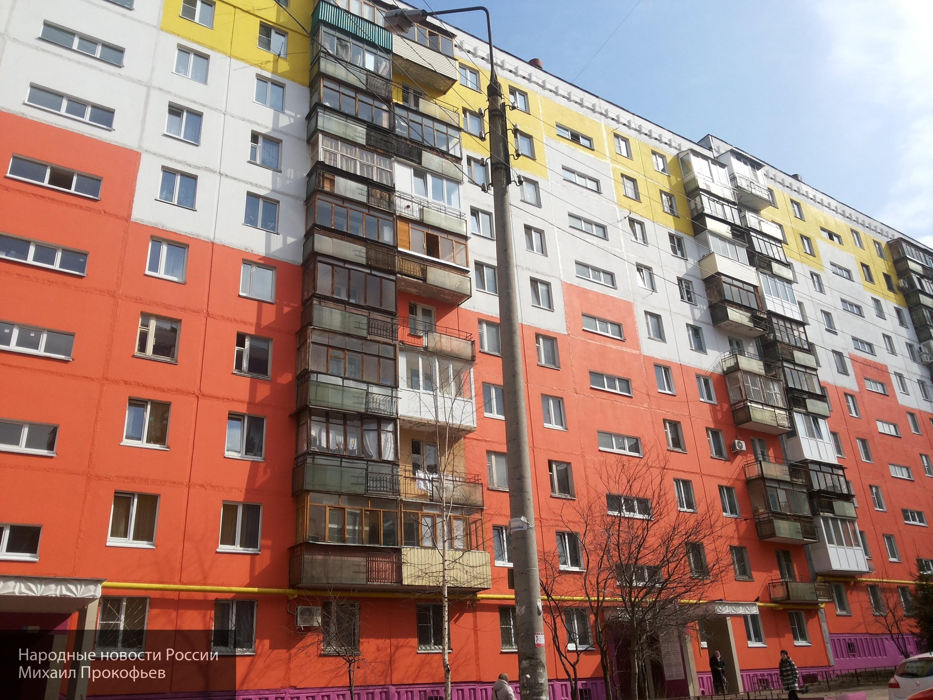 Балкон многоэтажного дома об…