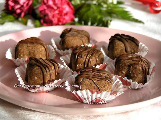 Торжество Православия. Шоколадные трюфели из... фасоли!