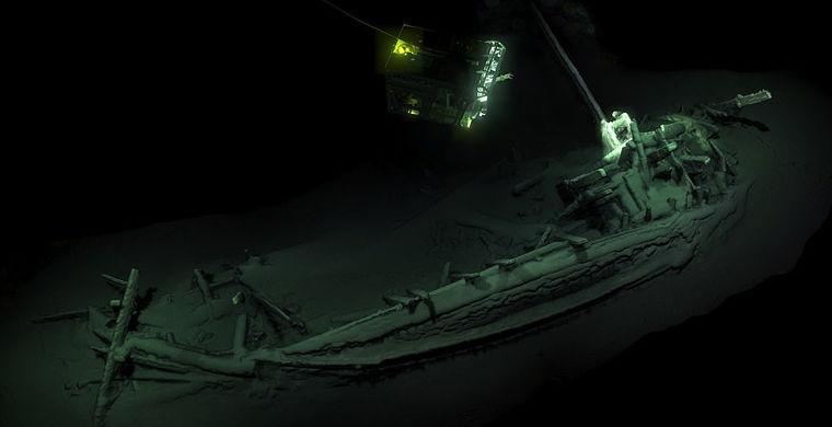 В Черном море исследовали древнейший греческий корабль