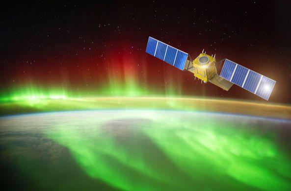 Ученые выяснили, что полярное сияние «сдувает» спутники