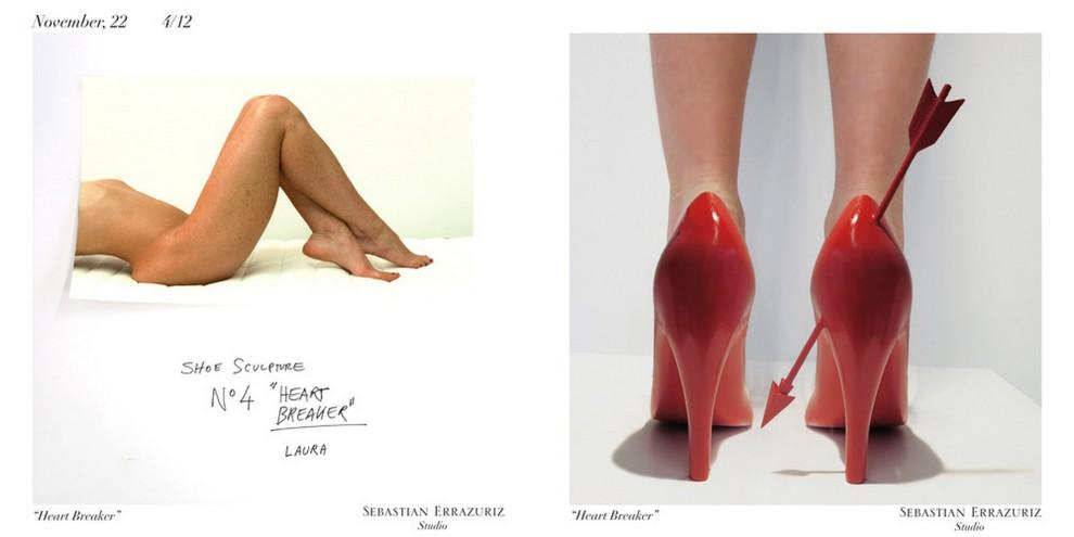 Как выглядят туфли, олицетворяющие бывших девушек
