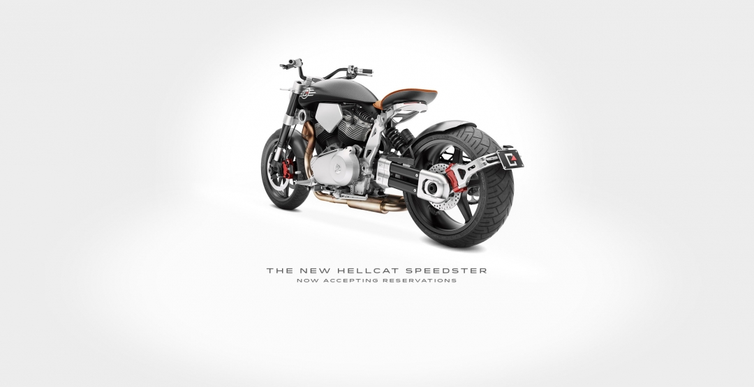 Фото X132 Hellcat Speedster, 2015, эксклюзив, модель, Confederate Motorcycles