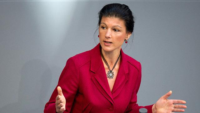 Лидер немецкой оппозиции призвала создать союз с Россией и распустить НАТО