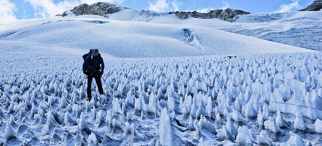 Фото Пенитентес . Ледяные чудеса природы. Фото с сайта NewPix.ru