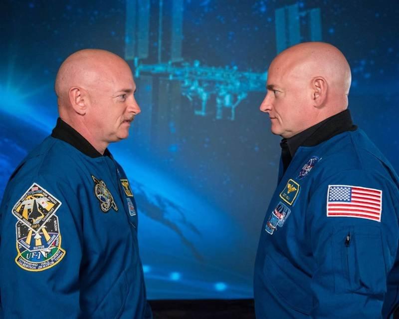 По возвращении Скотта на Землю, специалисты ведомства провели тест на сравнение ДНК близнецов nasa, близнец, брат, космос, мкс, омоложение, результат, эксперимент