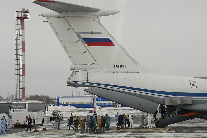 Белоруссия поблагодарила Россию за эвакуацию своих граждан из Китая