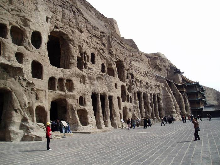 Храм самой ранней общины в Китае.