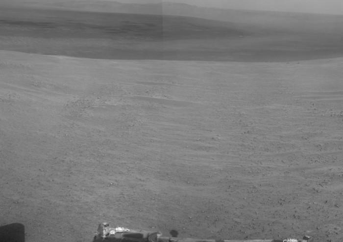 Марсоход «Opportunity» приступил к исследованию долины Настойчивости