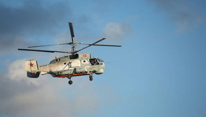 МО РФ планирует модернизировать весь парк  корабельных Ка-27