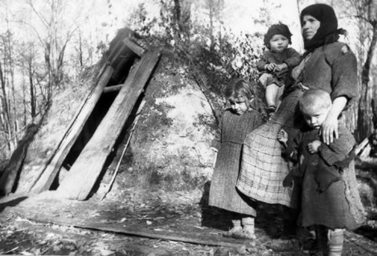 Архивная справка об уничтоженных нацистами деревнях Новгородской области