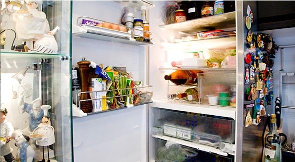 Холодильники московских шеф–поваров, часть 1.