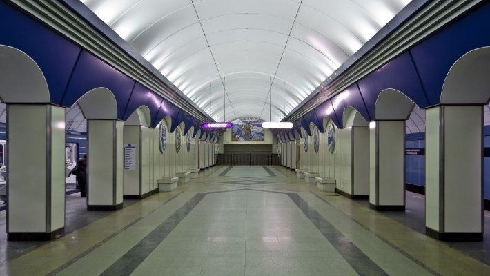 В Петербурге закрыта станция метро «Комендантский проспект»