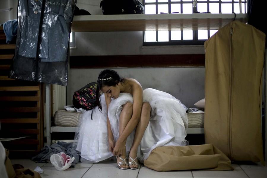 Сказочная ночь для девушек из трущоб Рио