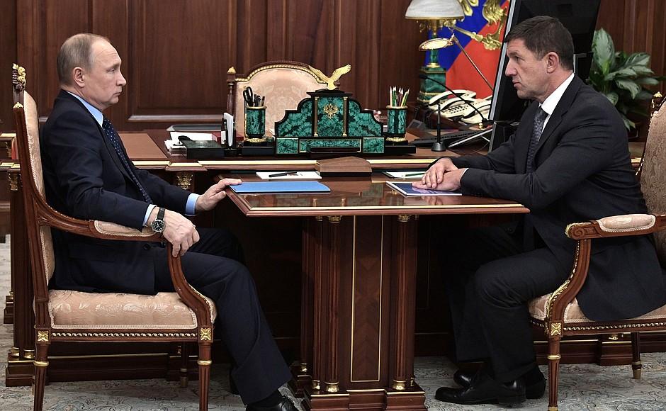 Встреча с президентом компании «Ростелеком»