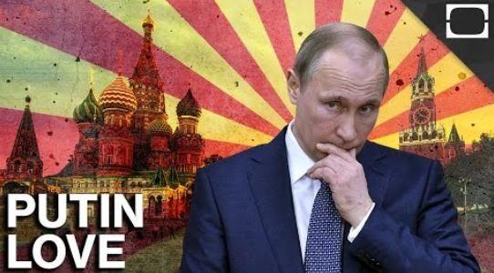 "Реакция иностранцев на видео ""Почему русские любят Путина?"""