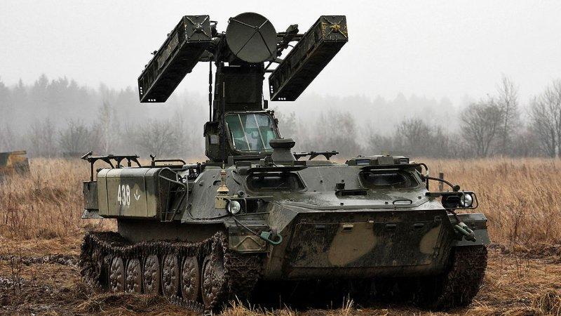 Бойцы ВСУ устроили стрельбы из ЗРК «Стрела-10» неподалёку от линии соприкосновения