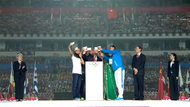 Председатель КНР объявил летние юношеские Олимпийские игры открытыми