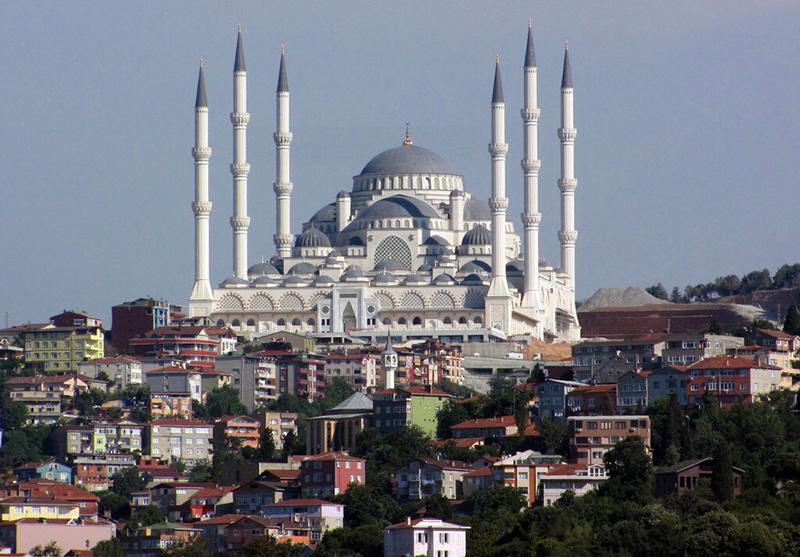Холм и мечеть Чамлыджа