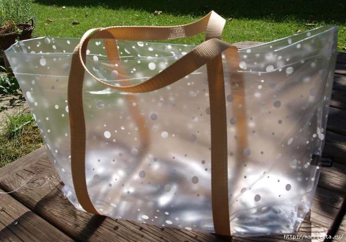 Шьем пляжную сумку из полиэтиленовой скатерти (10) (700x489, 249Kb)