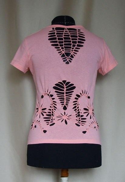 МК по плетению узоров на футболке (Diy)