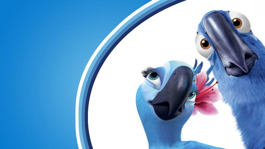 Гиацинтовые ара в мультфильме «Рио»