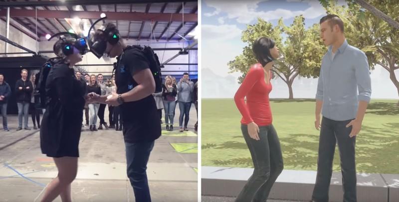 Парень сделал предложение девушке в виртуальной реальности