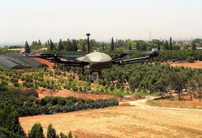 Новые мультикоптеры в вооруженных силах Израиля