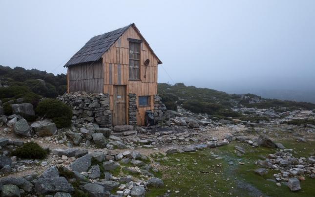 Кухонька в горных лесах в северной части национального парка Крейдл Маунтин - Озеро Сент-Клэр